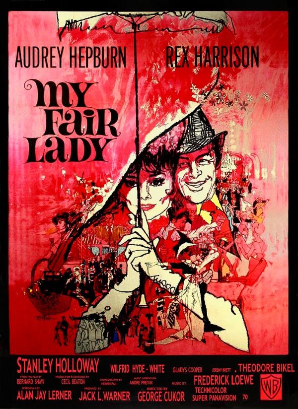 Minha Bela Dama (My Fair Lady), de George Cukor: 8 Oscars