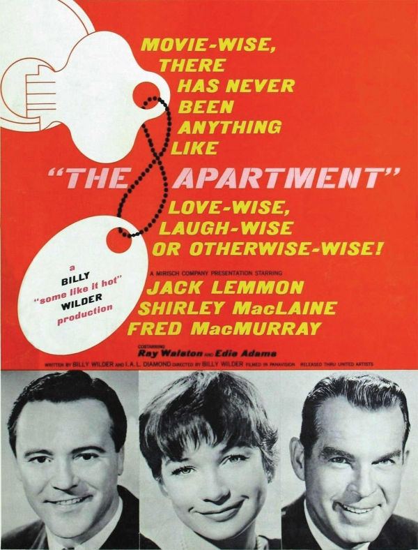Se Meu Apartamento Falasse (The Apartment), de Billy Wilder: 6 Oscars