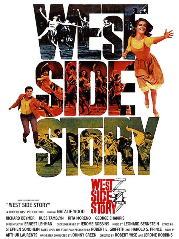 Amor, Sublime Amor (West Side Story), de Robert Wise e Jerome Robbins: 10 Oscars