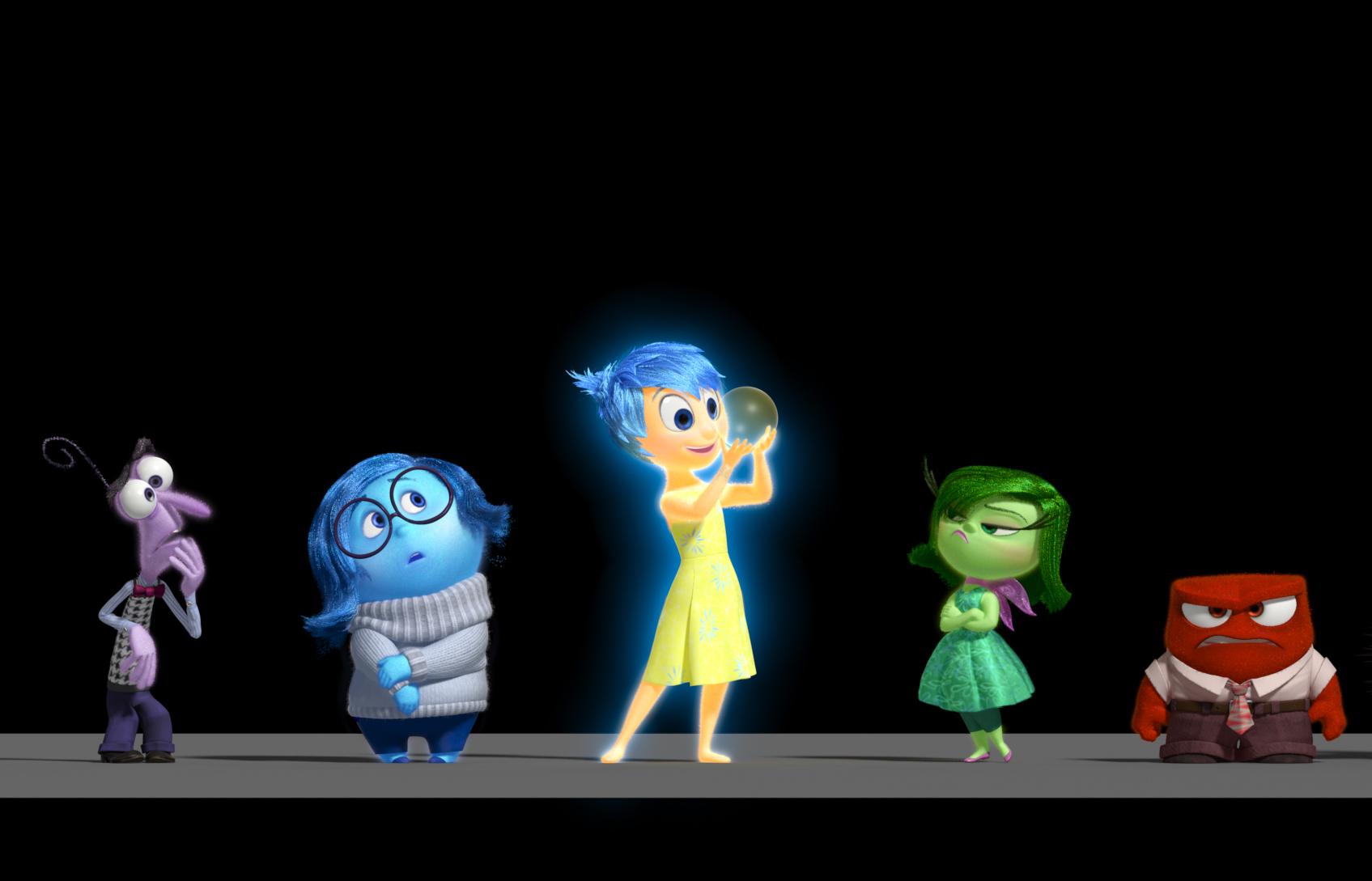 Cena da nova animação da Pixar, Divertida Mente, de Pete Docter (photo by cine.gr)