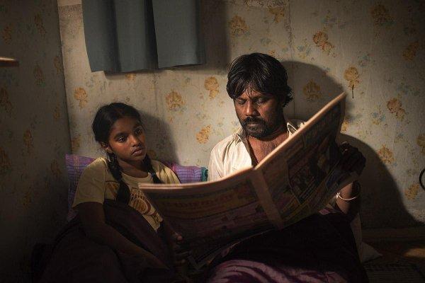 Claudine Vinasithamby e Jesuthasan Antonythasan em cena de Dheepan, de Jacques Audiard (Photo by outnow.ch)