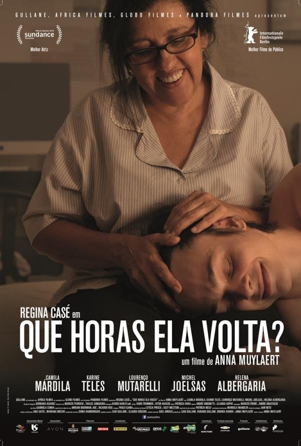 Pôster de Que Horas Ela Volta?, de Anna Muylaert (photo by quadroporquadro.com.br)