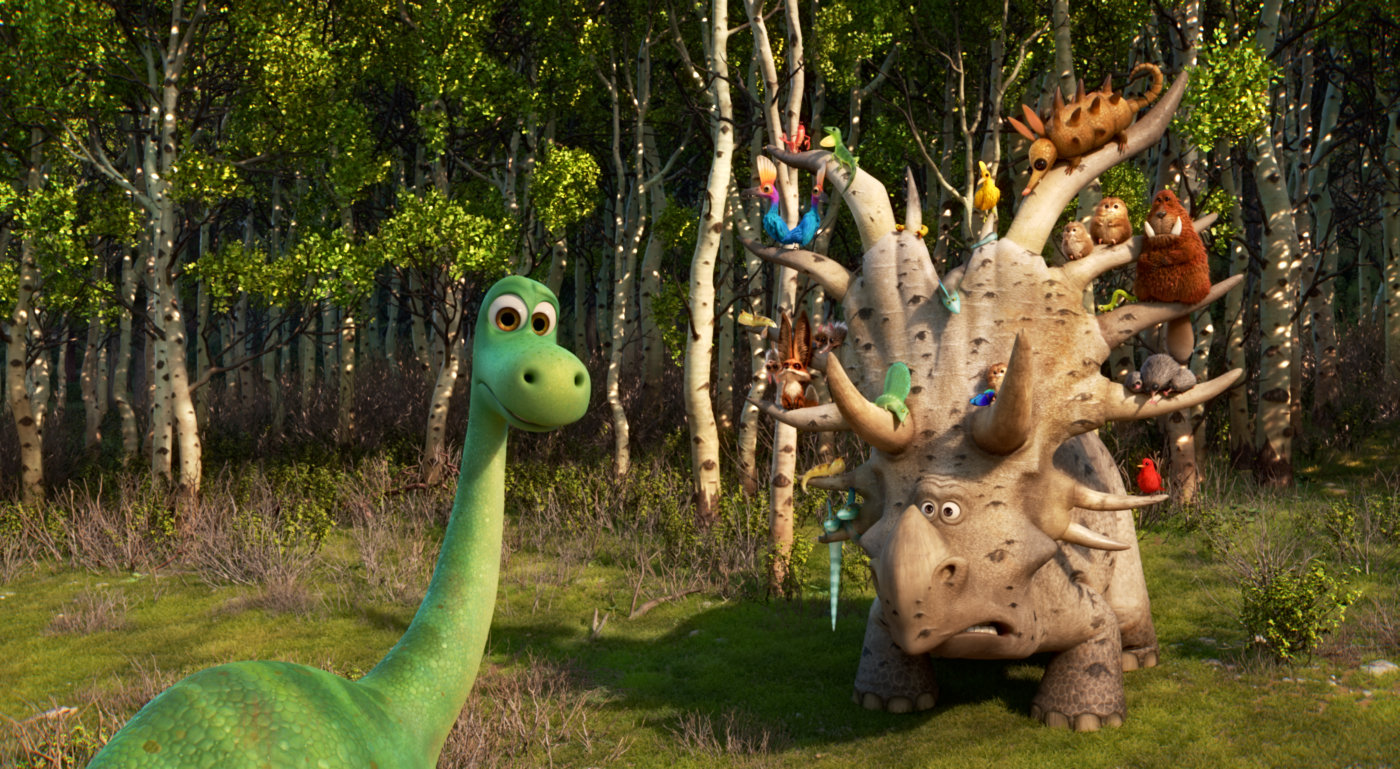 Cena de O Bom Dinossauro, de Peter Sohn (photo by outnow.ch)