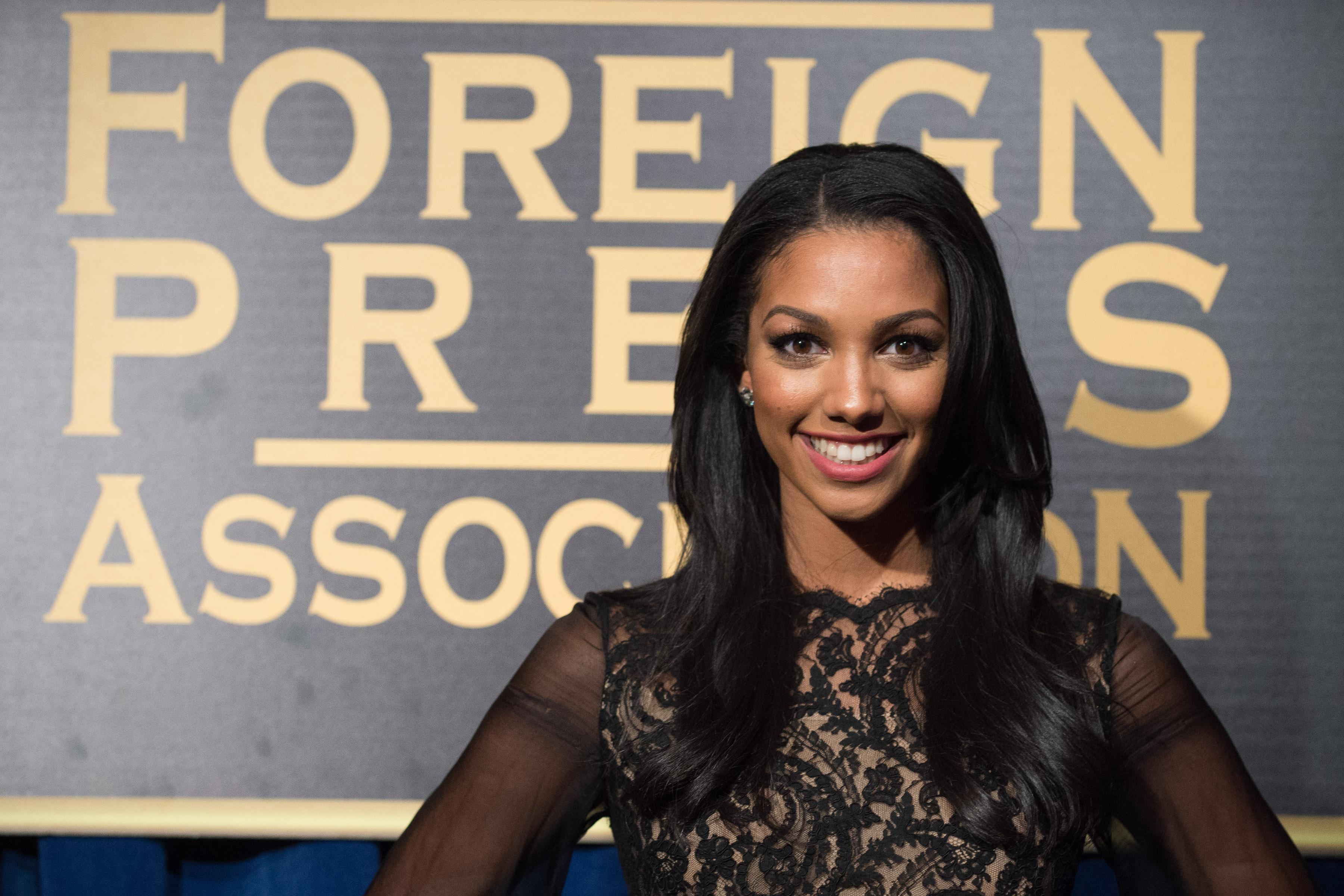 The Hollywood Foreign Press Association has selected Corinne Foxx as Miss Golden Globe 2016 for the 73rd Annual Golden Globe Awards set to air live on NBC on January 10, 2016. President Lorenzo Soria made the announcement on November 17, 2015 from Ysabel Restaurant in West Hollywood.