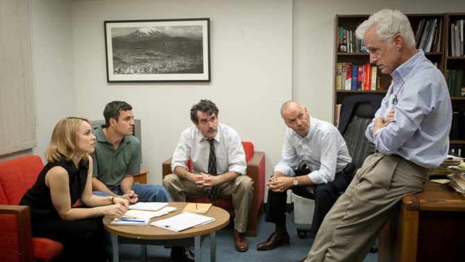 Elenco de Spotlight (photo by Open Road)