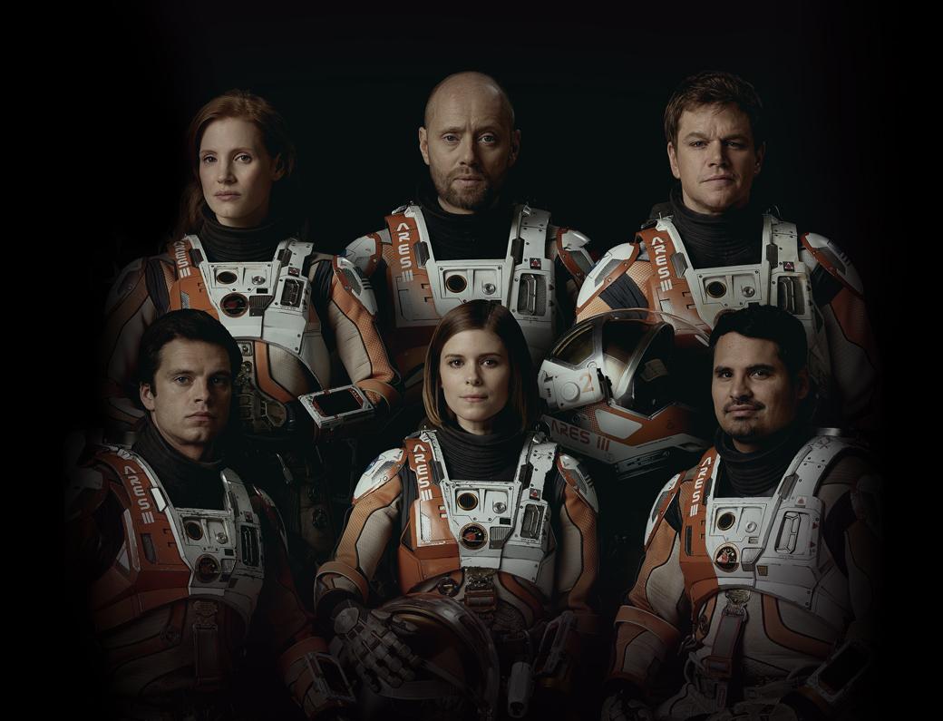 Os astronautas da tripulação de Perdido em Marte (photo by cinemagia.ro)