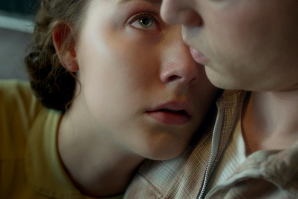 "Saoirse Ronan as ""Eilis"" and Emory Cohen as ""Tony"" in BROOKLYN."