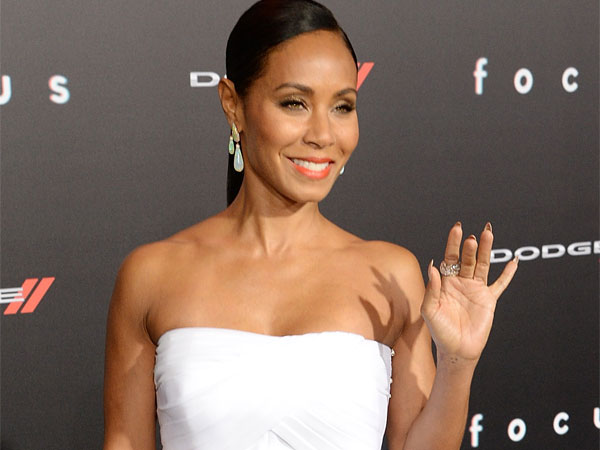 A atriz Jada Pinkett Smith, esposa de Will Smith, protestou sobre ausência de negros (photo by philly.com)