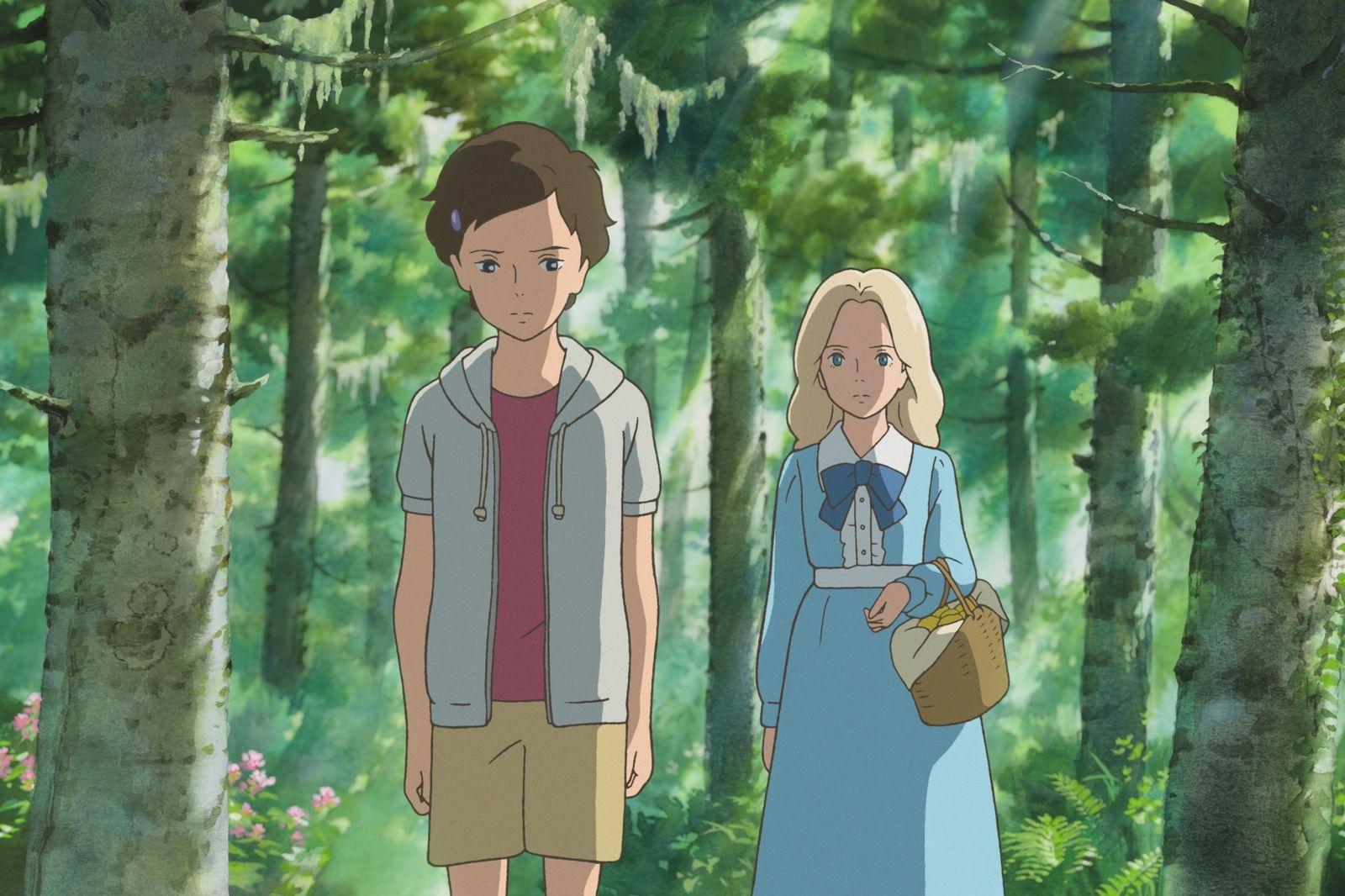 Indicado a Longa de Animação, o japonês Quando Estou com Marnie mantém a tradição do Japão no Oscar (photo by cinemagia.ro)