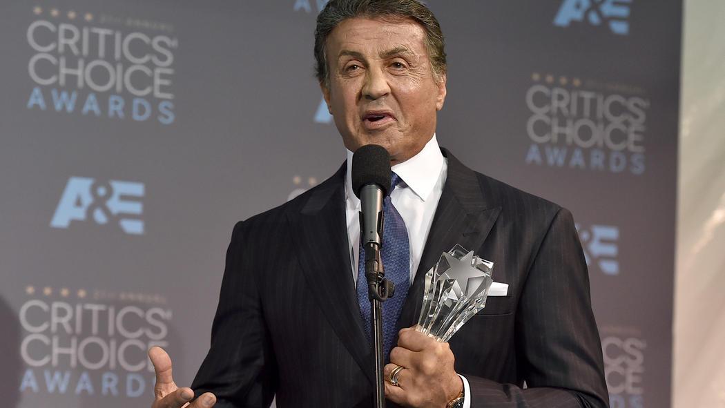 Sylvester Stallone critics-choice-awards-20160117-002
