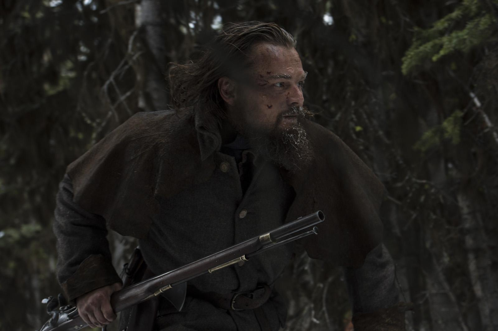 Leonardo DiCaprio em cena de O Regresso (photo by cinemagia.ro)