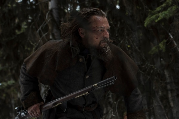 Leonardo DiCaprio em cena de O Regresso (photo by cinemagia.ro)
