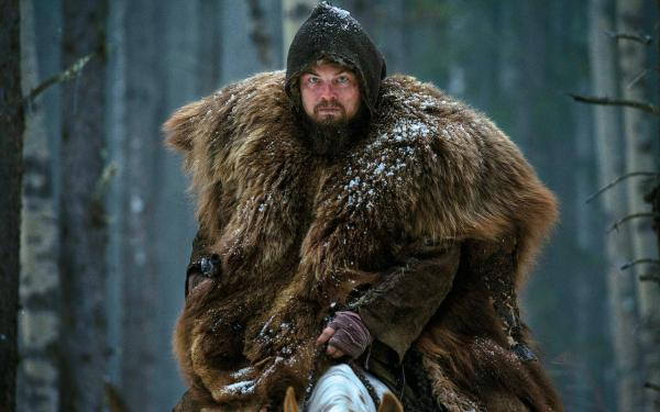Leonardo DiCaprio em O Regresso (photo by telegraph.co.uk)