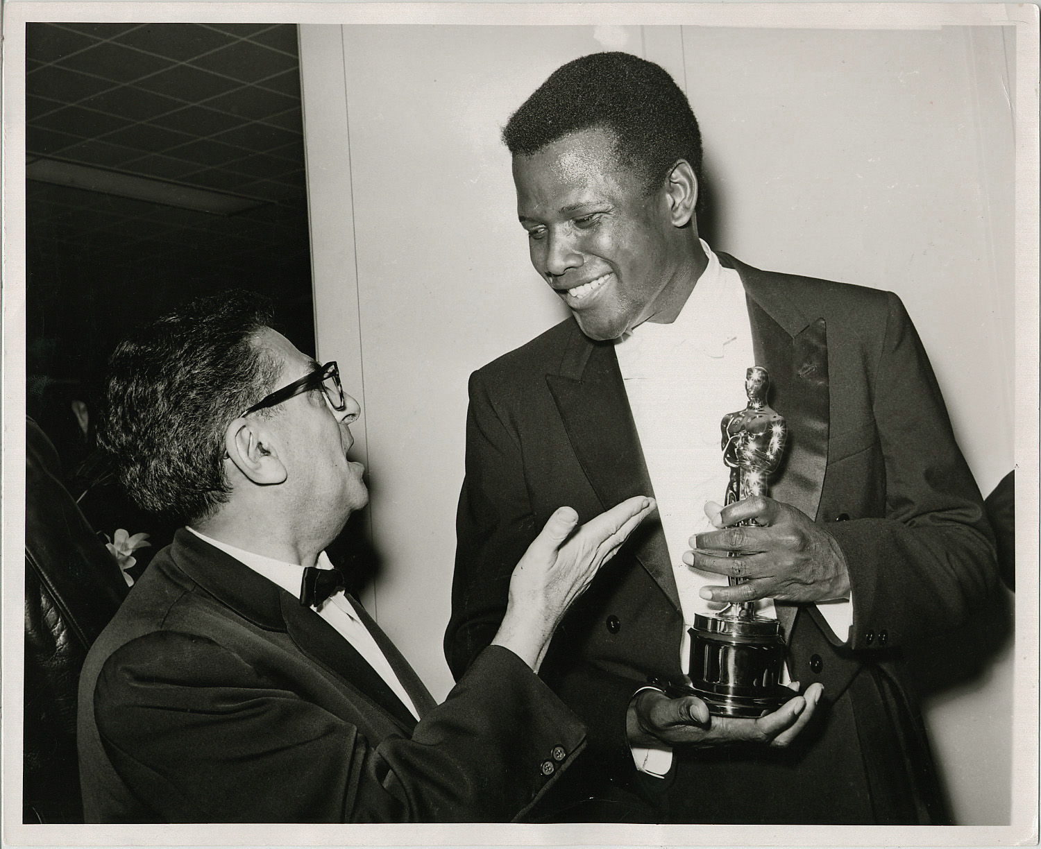 Sidney Poitier (actor), Sidney Skolsky1963 (36th)