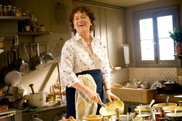 Como a cozinheira Julia Child em Julie & Julia (photo by tvnoar.com.br)