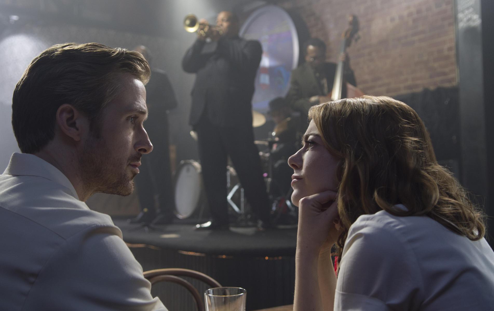 Cena do musical La La Land, de Damien Chazelle. Os atores Ryan Gosling e Emma Stone também fora indicados. (photo by moviepilot.de)