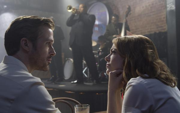 Cena do musical La La Land, de Damien Chazelle. Os atores Ryan Gosling e Emma Stone também fora indicados. (photo by moviepilot.de)