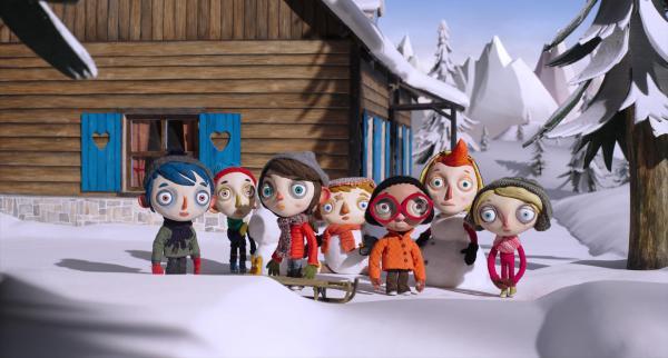 Cena da animação suíça My Life as a Zucchini, que também concorre como Longa de Animação. Pic by moviepilot.de