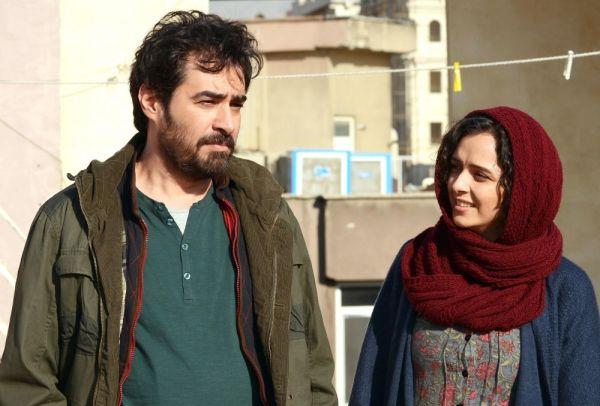 Cena de O Apartamento, de Asghar Farhadi. Em cena: Shahab Hosseini e Taraneh Alidoosti. Pic by cine.gr
