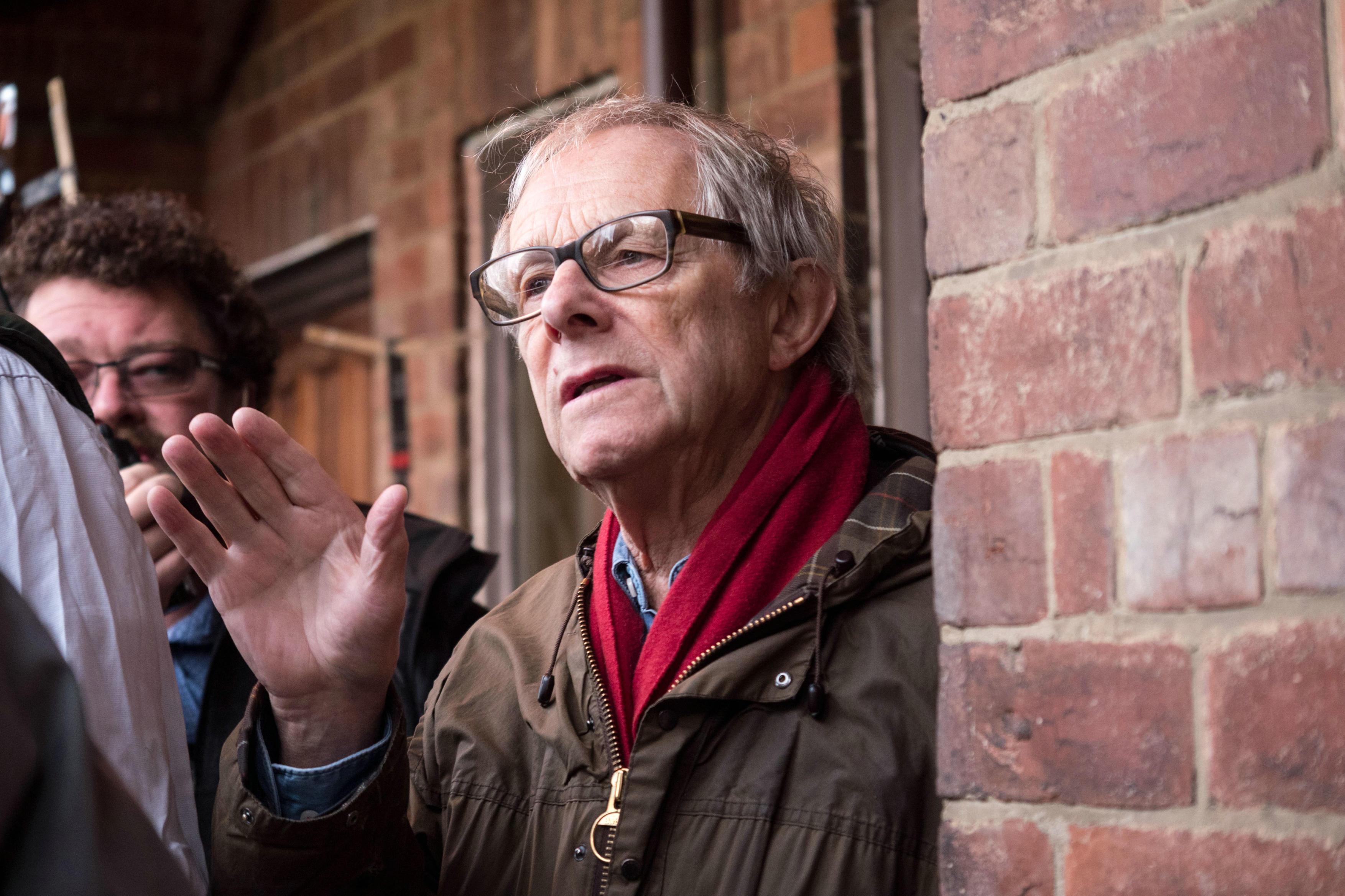 O diretor Ken Loach, 80 anos, vencedor de duas Palmas de Ouro, recebeu sua segunda indicação de Diretor no BAFTA (pic by moviepilot.de)