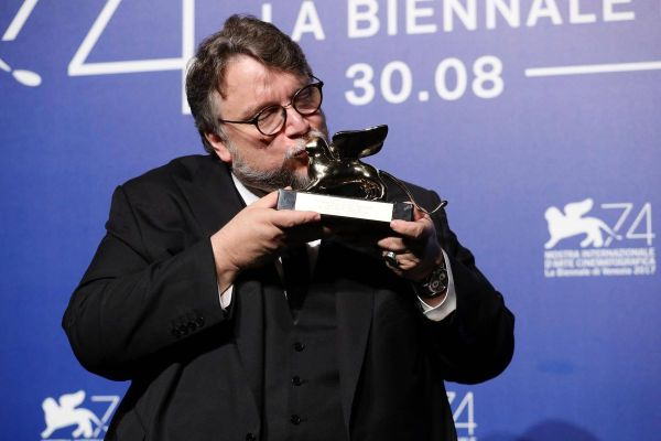 Guillermo del Toro golden lion