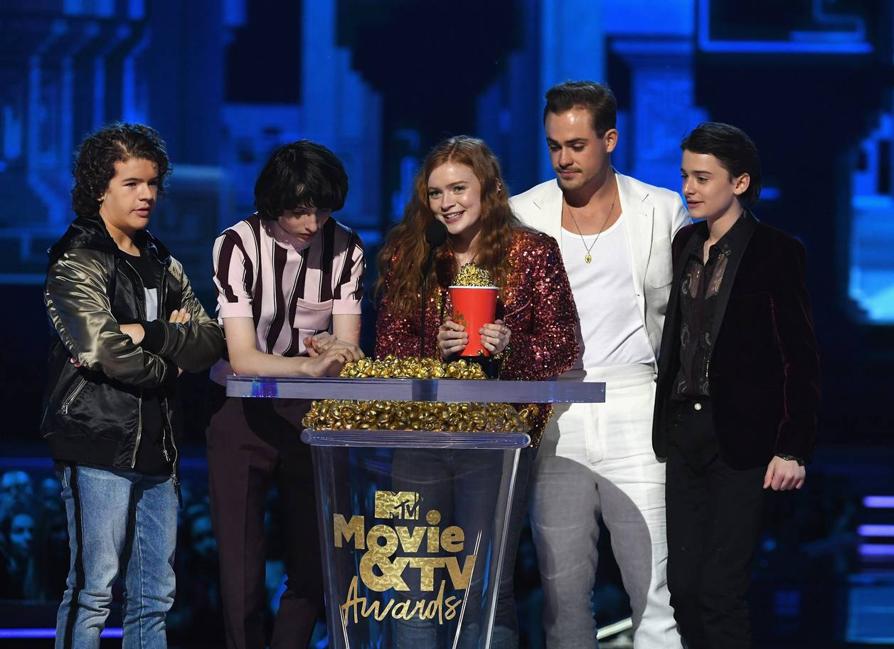 MTVAwards Stranger Things 1906f
