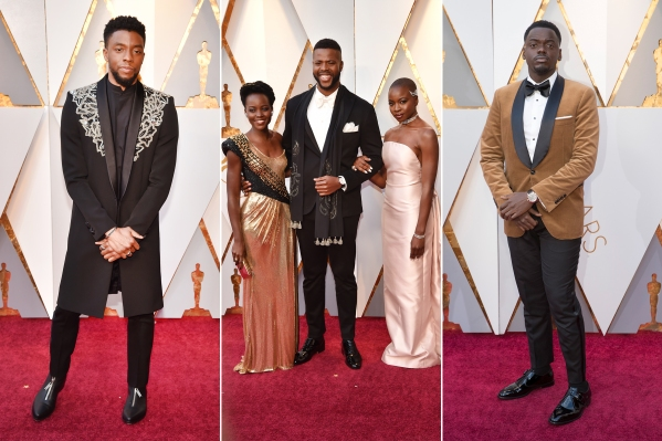 fashion-red-carpet-black-panther-90th-academy-awards