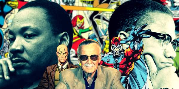 Stan Lee Professor Xavier Magneto