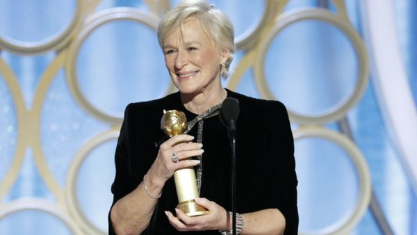 glenn close golden globe
