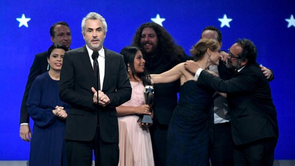roma critics choice