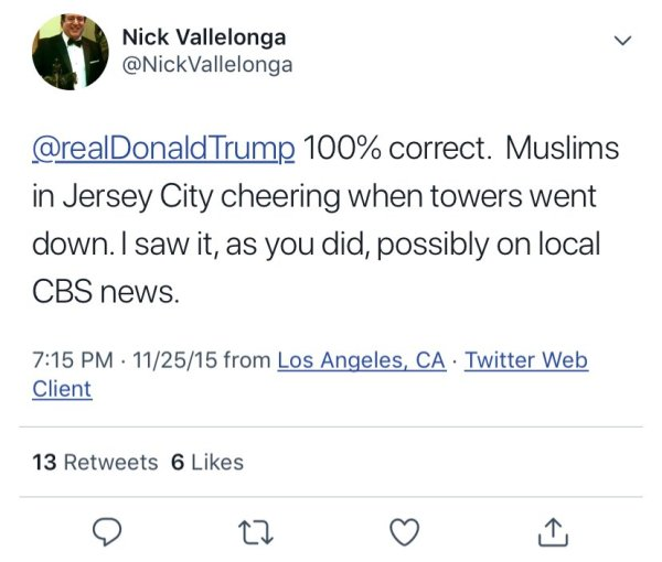 twitter nick vallelonga