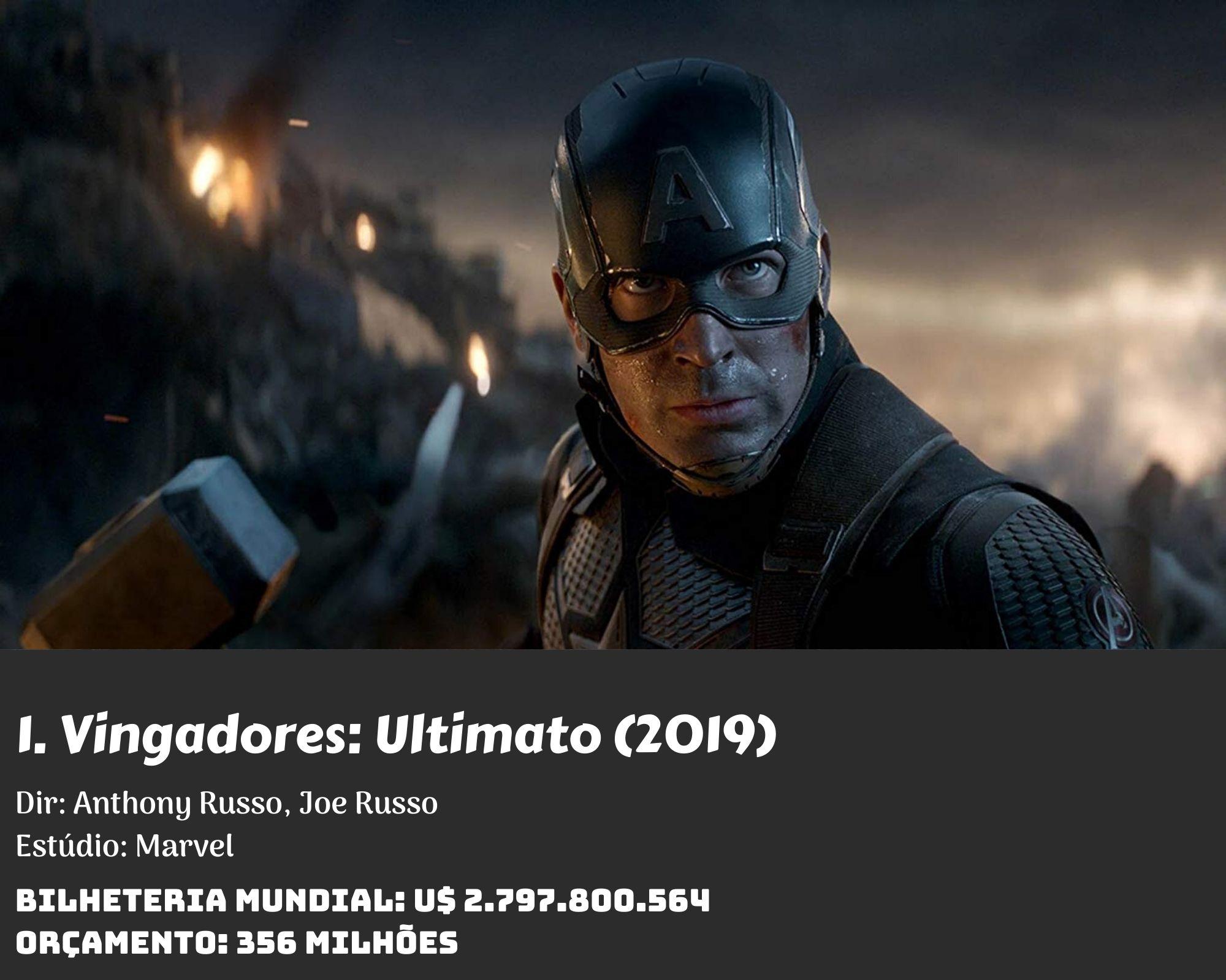 1. Avengers Endgame