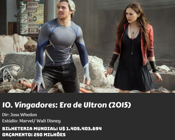 10. Avengers Age of Ultron