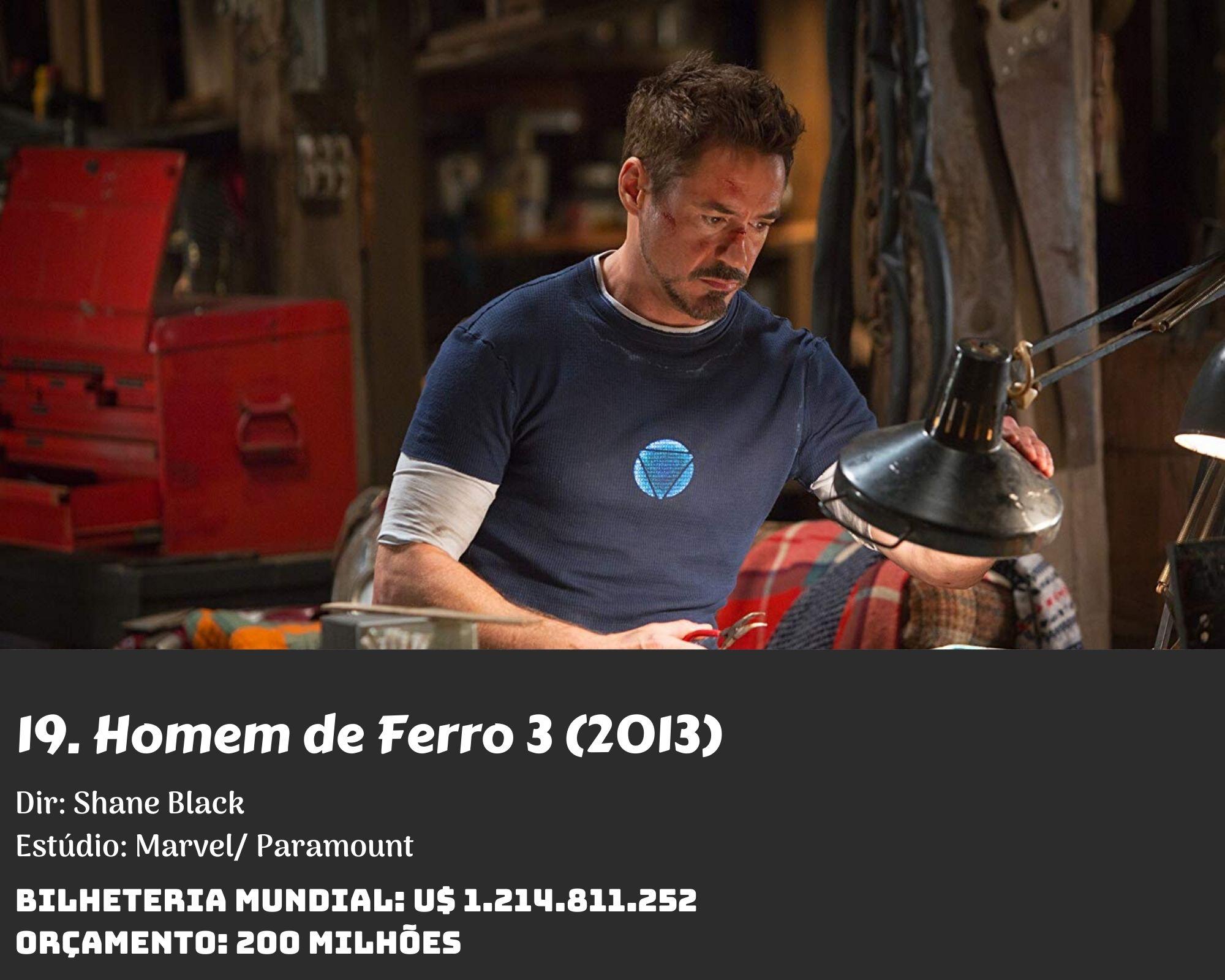 19. Iron Man 3