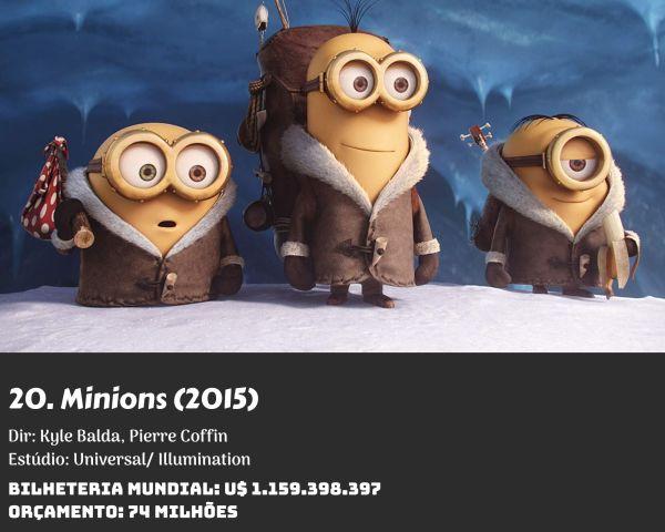20. Minions