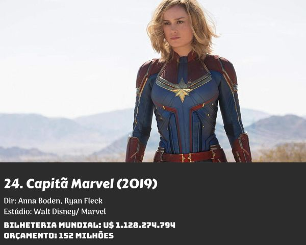 24. Captain Marvel