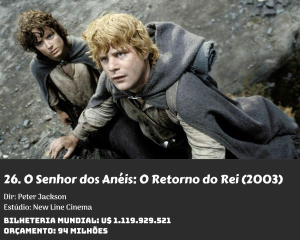 26. The Lord of the Rings