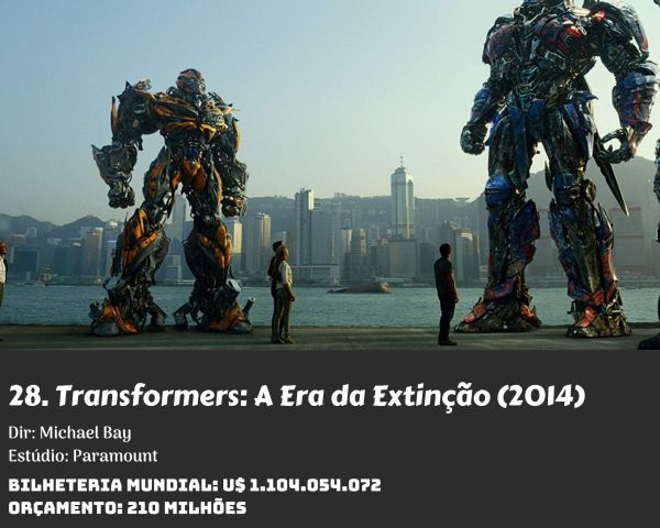 28. Transformers Age of Extinction