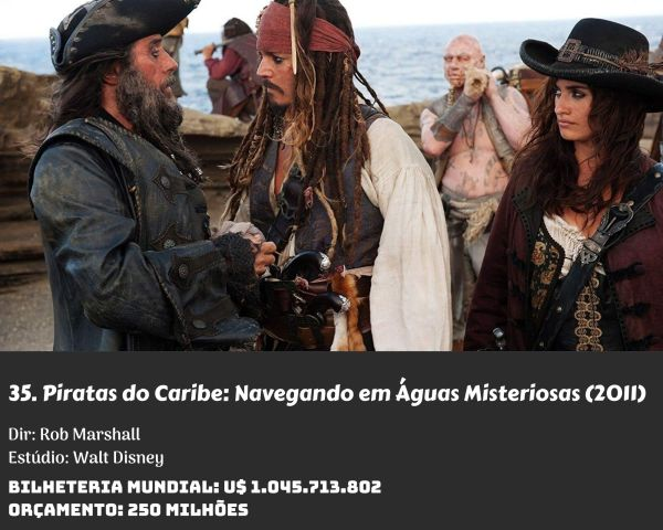 35. Pirates of the Caribbean On Stranger Tides