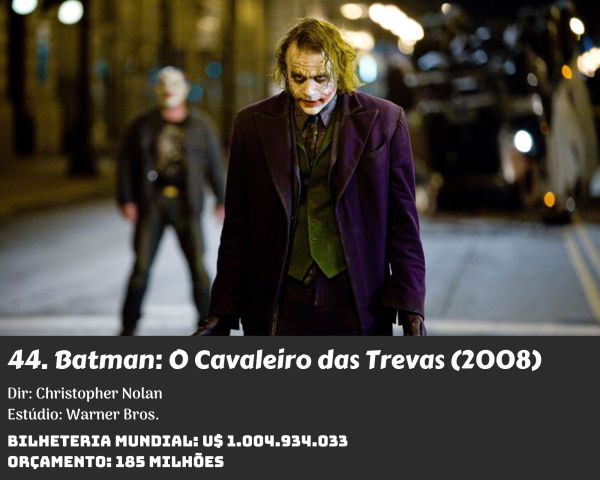 44. The Dark Knight