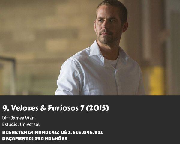 9. Furious Seven